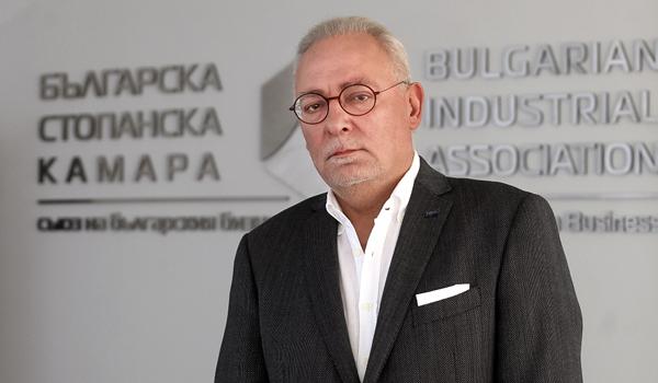 Радосвет Радев, председател на Българската стопанска камара